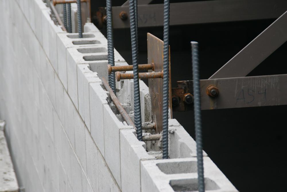 20 cm Standard Block with Vertical Steel